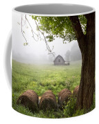 Little Barn Coffee Mug by Debra and Dave Vanderlaan