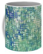 Little Blue Diamonds Coffee Mug
