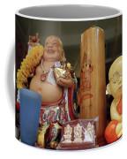Little Buddhas In Silom In Bangkok In Thailand Coffee Mug