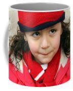 Little Girl In Red Coffee Mug