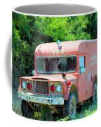 Little Red Firetruck Coffee Mug