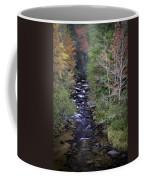 Little River - North Carolina Autumn Scene Coffee Mug