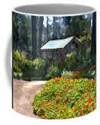 Little Rustic Cabin In A Clearing In The Woods Coffee Mug