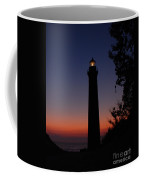 Little Sable Point Lighthouse After Sunset Coffee Mug