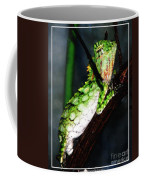 Lizard With Oil Painting Effect Coffee Mug