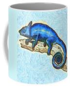 Lizzie Loved Lizards Coffee Mug by Nikki Marie Smith
