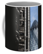 Lloyds Of London And The Gherkin Building Coffee Mug