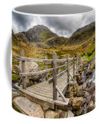 Llyn Idwal Bridge Coffee Mug by Adrian Evans