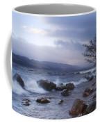 Loch Ness Shoreline At Dusk Coffee Mug