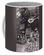Lodge Starved Rock State Park Illinois Bw Coffee Mug