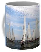 Log Canoes Coffee Mug