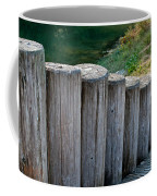 Log Handrail Coffee Mug