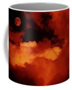 Lomo Moon And Clouds Coffee Mug