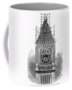 London: Clock Tower, 1856 Coffee Mug
