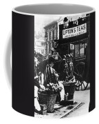 London: Flower Girl, C1900 Coffee Mug