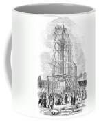 London: Nelson Column, 1845 Coffee Mug