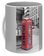 London Phone Box Coffee Mug