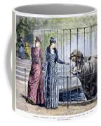 London Zoo, 1891 Coffee Mug