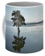 Lone Cypress Tree In Water.  Coffee Mug