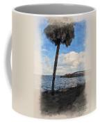 Lone Palm Tree Coffee Mug