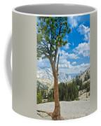 Lone Pine At Half Dome Coffee Mug