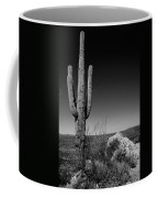Lone Saguaro Coffee Mug by Chad Dutson