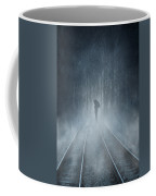Lonely Figure Coffee Mug by Svetlana Sewell