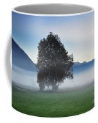 Lonely Tree In The Fog Coffee Mug