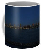 Long Beach Skyline At Night Coffee Mug