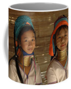 Long Neck Girls Coffee Mug