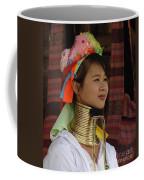 Long Necked Woman 3 Coffee Mug
