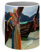 Long Tail Boats Coffee Mug