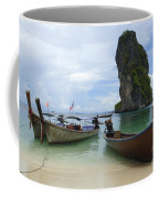 Long Tail Boats Thailand Coffee Mug