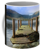 Long Walk Off A Short Pier Coffee Mug
