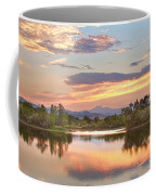 Longs Peak Evening Sunset View Coffee Mug