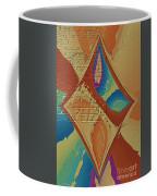 Look Behind The Brick Wall Coffee Mug by Deborah Benoit