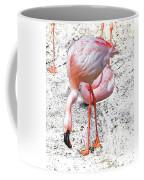 Look I See My Foot Coffee Mug