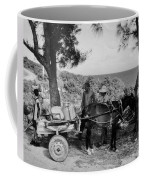 Looking Back Coffee Mug by John Malone