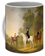Lord Bulkeley And His Harriers Coffee Mug by Francis Sartorius