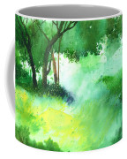 Lost In Thought Coffee Mug by Anil Nene