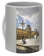 Louvre Museum Coffee Mug by Elena Elisseeva