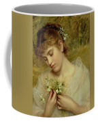 Love In A Mist Coffee Mug by Sophie Anderson