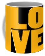 Love In Gold Coffee Mug