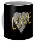 Love In Silver And Gold  Coffee Mug