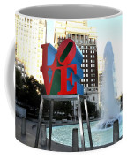 Love Is ..... A Four Letter Word Coffee Mug