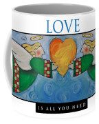 Love Is All You Need Poster Coffee Mug