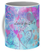 Love Is The Key Coffee Mug