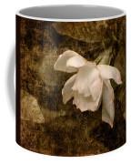 Love Letter Ix Cape Jasmine Gardenia Coffee Mug by Jai Johnson