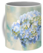 Love Letter Vii Hydrangea Coffee Mug by Jai Johnson
