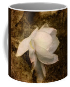 Love Letter Viii Cape Jasmine Gardenia Coffee Mug by Jai Johnson